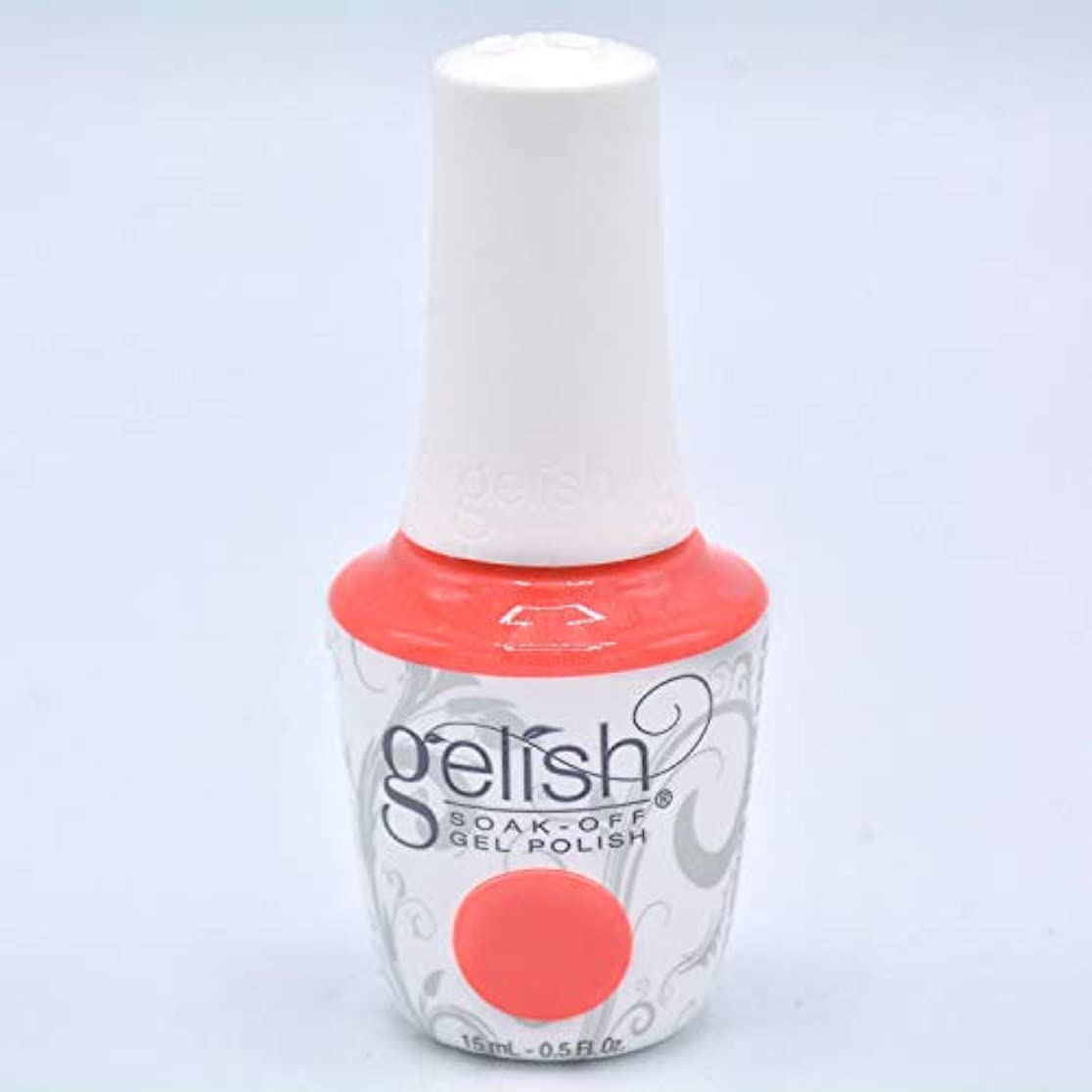 原理簡潔なコンソールHarmony Gelish Gel Polish - Brights Have More Fun - 0.5oz/15ml