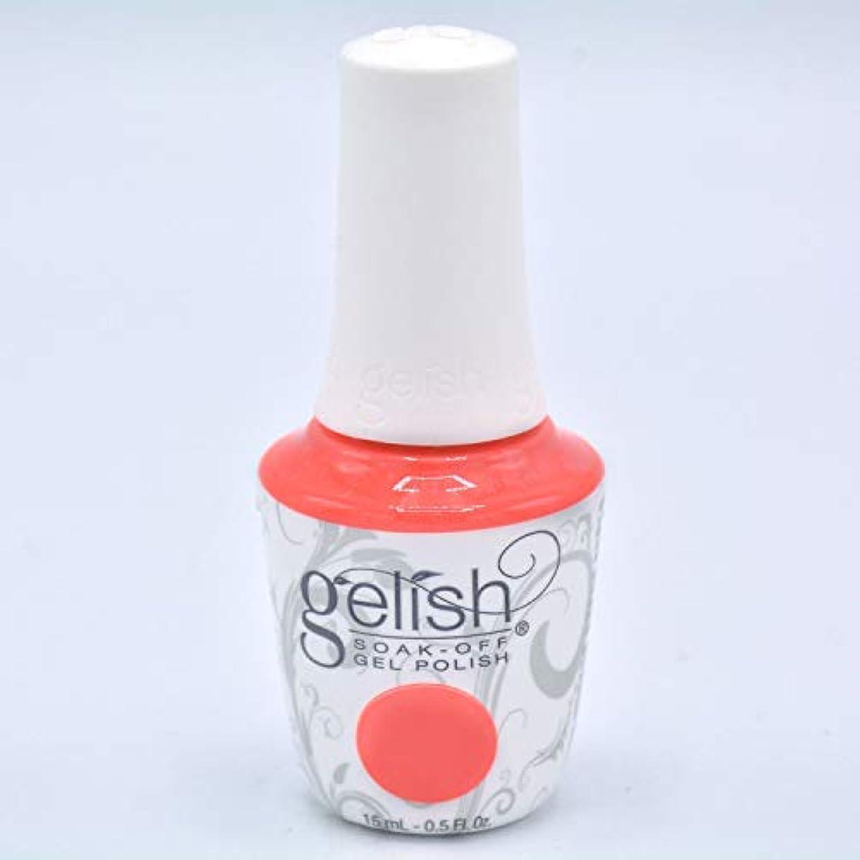 愛退化する英語の授業がありますHarmony Gelish Gel Polish - Brights Have More Fun - 0.5oz/15ml