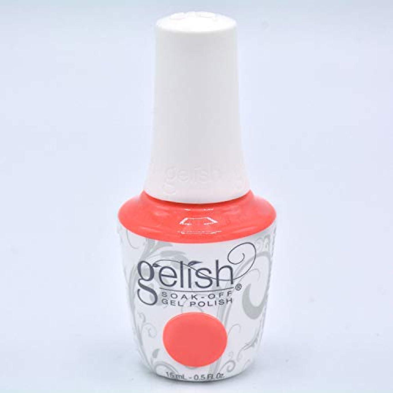 オープニングモットーどきどきHarmony Gelish Gel Polish - Brights Have More Fun - 0.5oz/15ml