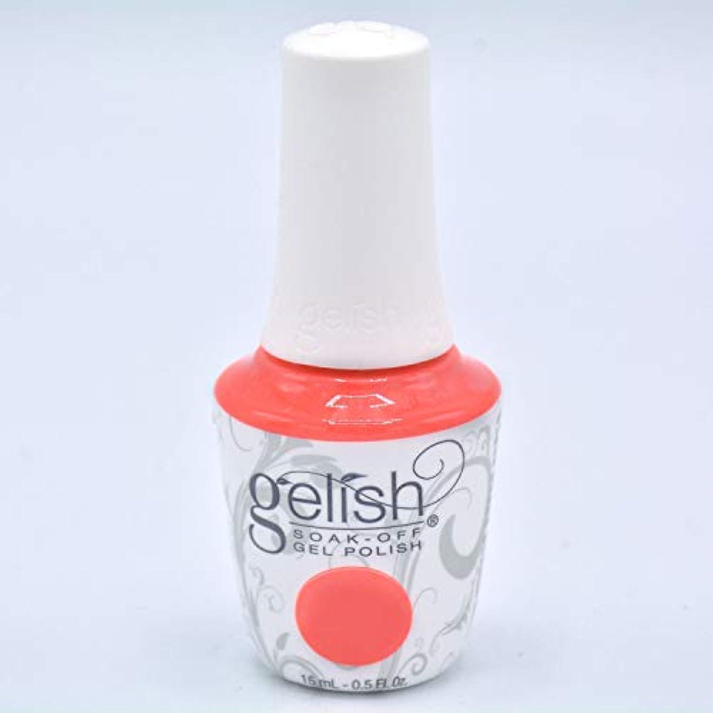 セールスマン同志探すHarmony Gelish Gel Polish - Brights Have More Fun - 0.5oz/15ml