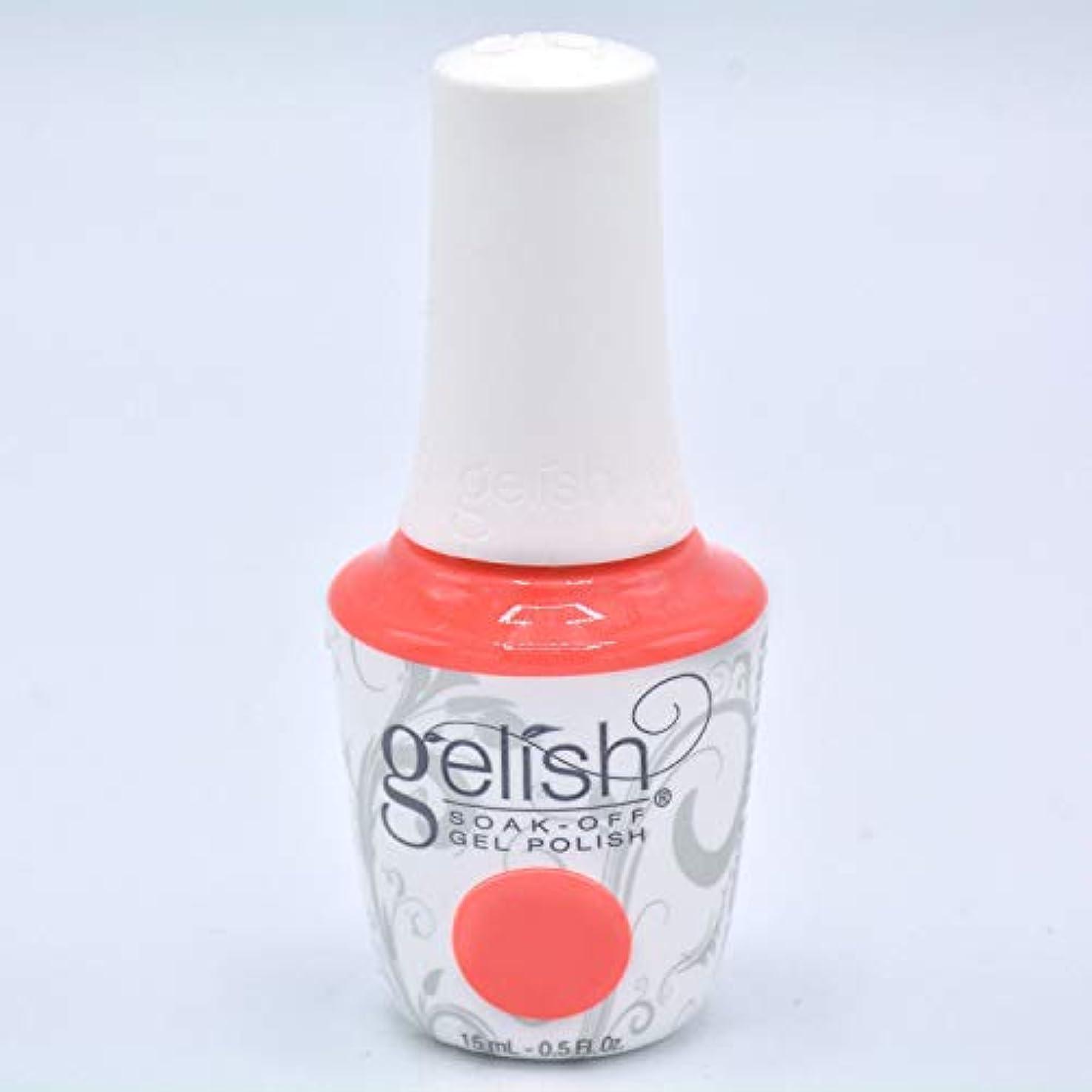 リビングルームエール事実Harmony Gelish Gel Polish - Brights Have More Fun - 0.5oz/15ml