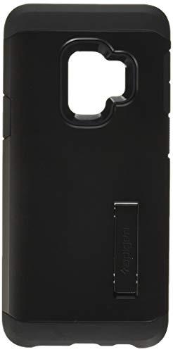 【Spigen】 スマホケース Galaxy S9 ケース [ SC-02K SCV38 ] 対応 米軍MIL規格取得 耐衝撃 スタンド機能 タフ・アーマー 592CS22846 (ブラック)