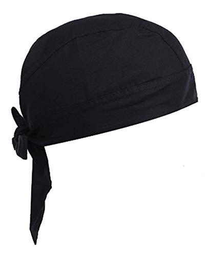 バンダナ キャップ BERUKO バンダナ コットン フリーサイズ ブラック 1