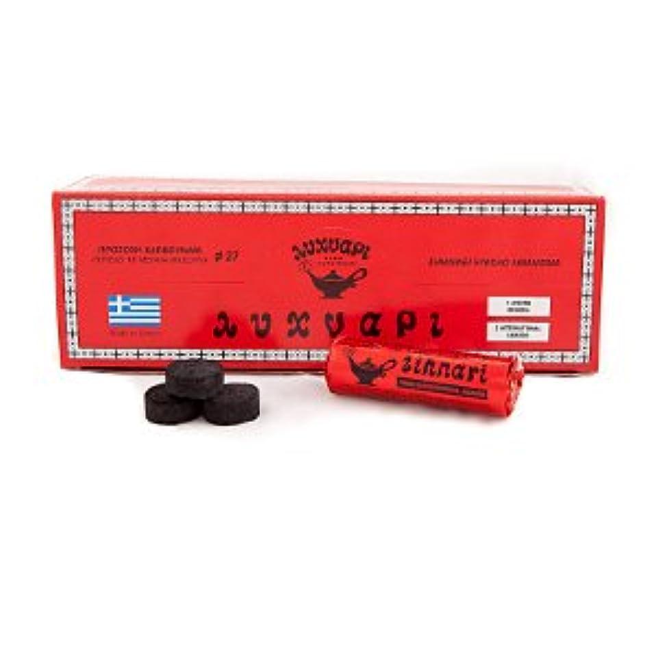 ウナギイーウェル電卓チャコール( Medium Karvounakia ) – 1ボックス19 Rolls