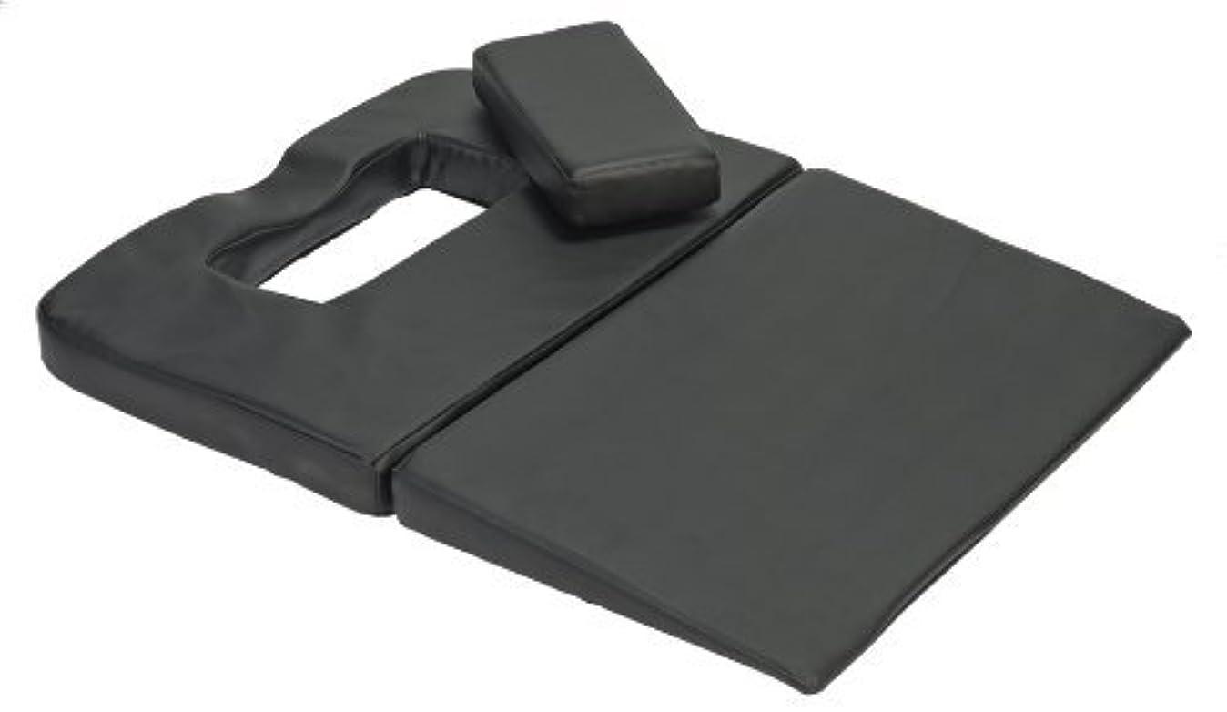 マージン降雨みNirvana 142NM2 Mate Massage Cushion Black [並行輸入品]