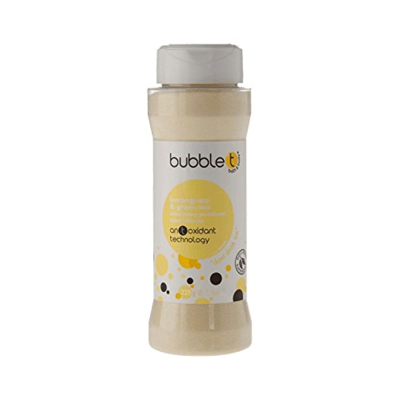 排除レタッチロールバブルトン風呂スパイス注入レモングラス&緑茶225グラム - Bubble T Bath Spice Infusion Lemongrass & Green Tea 225g (Bubble T) [並行輸入品]