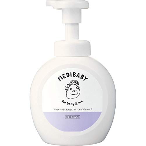 メディベビー MEDIBABY(メディベビー) 薬用泡フェイス&ボディソープ 本体 460mlの画像