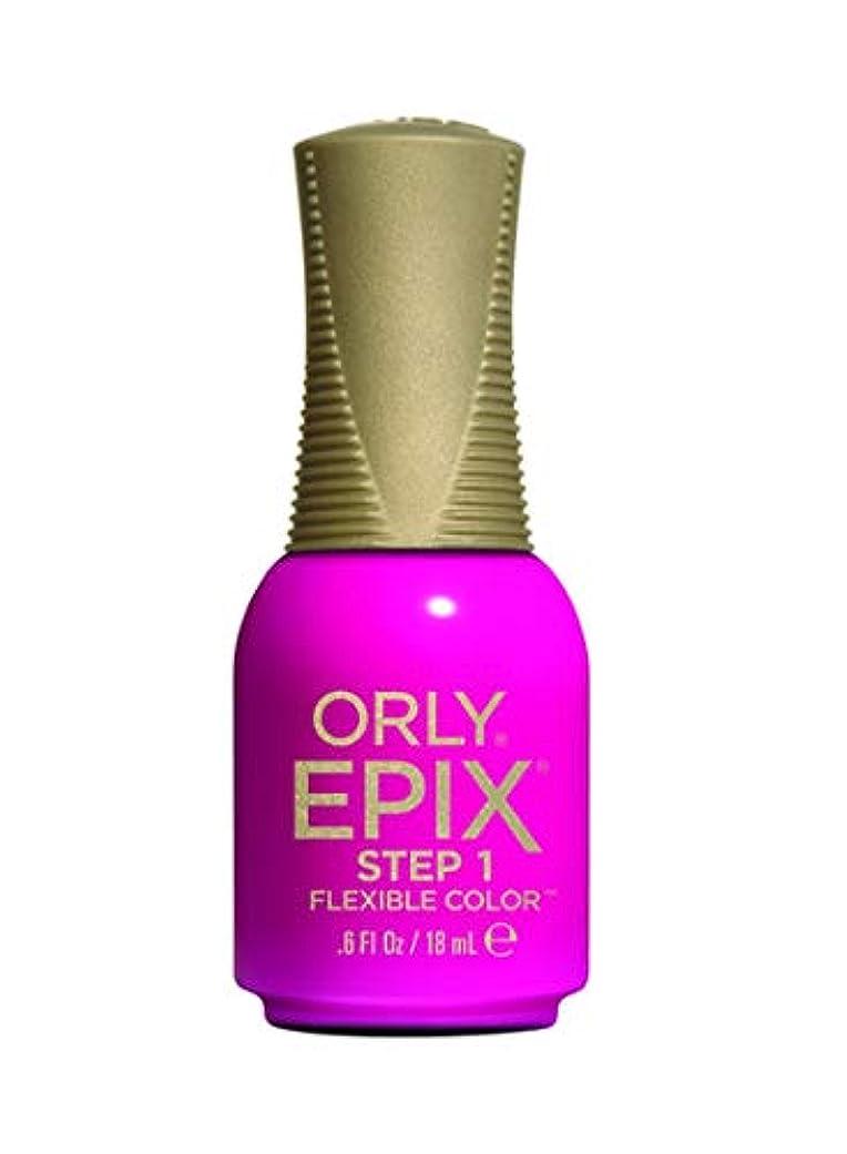 みぞれ勧告振り返るOrly Epix Flexible Color Lacquer - Electropop - 0.6oz / 18ml