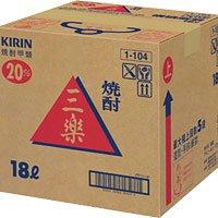 甲 三楽 20°テナー 【注ぎ口なし】 18L 1箱