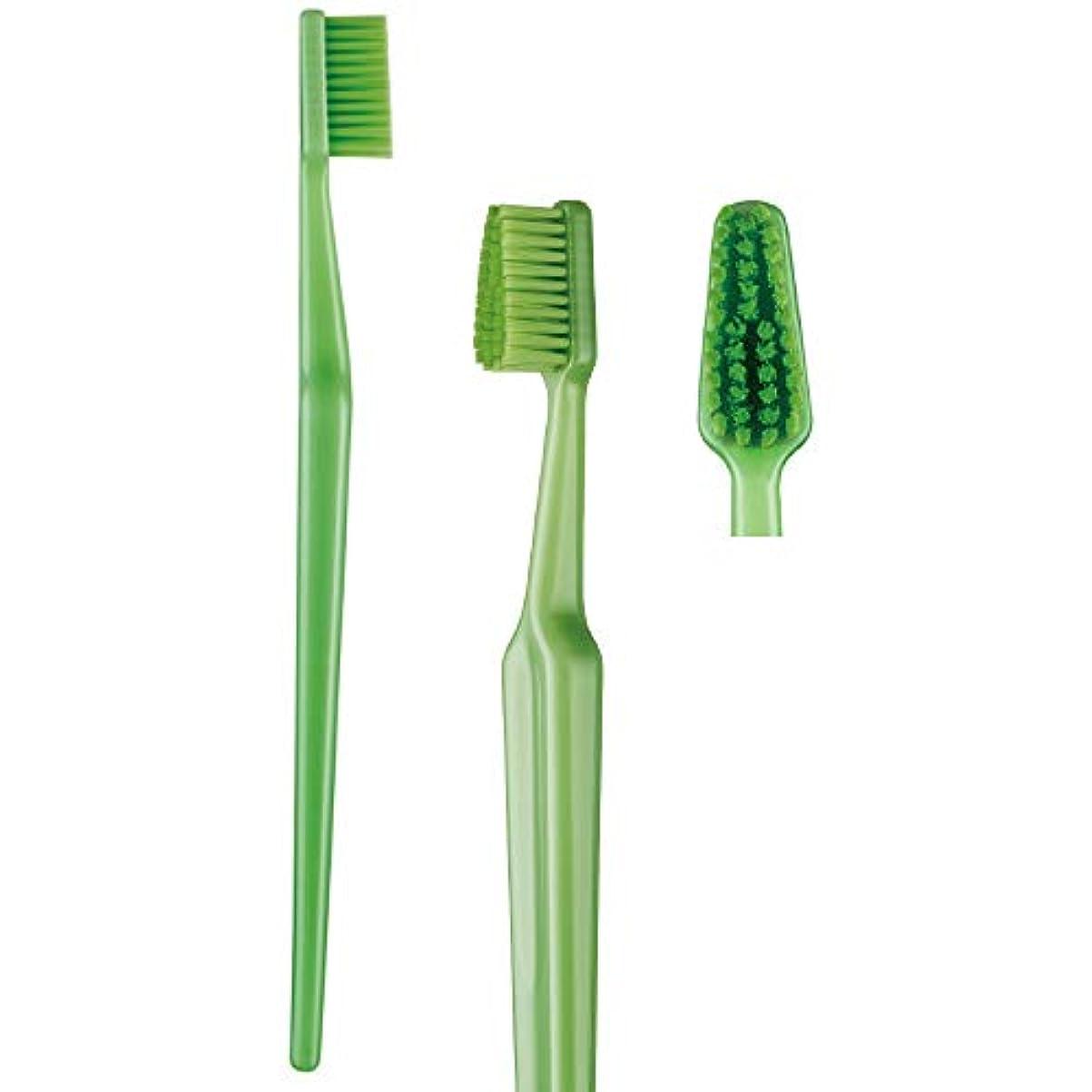 溶岩ジョットディボンドン歯科専売品 大人用歯ブラシ TePe GOOD (グッド) レギュラー ソフト(やわらかめ) ヘッド大 1本