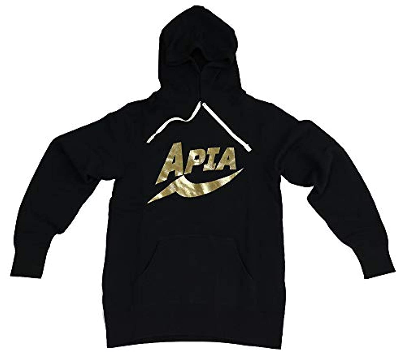 愚かな強度偏見アピア APIAプルオーバーパーカ ゴールド L