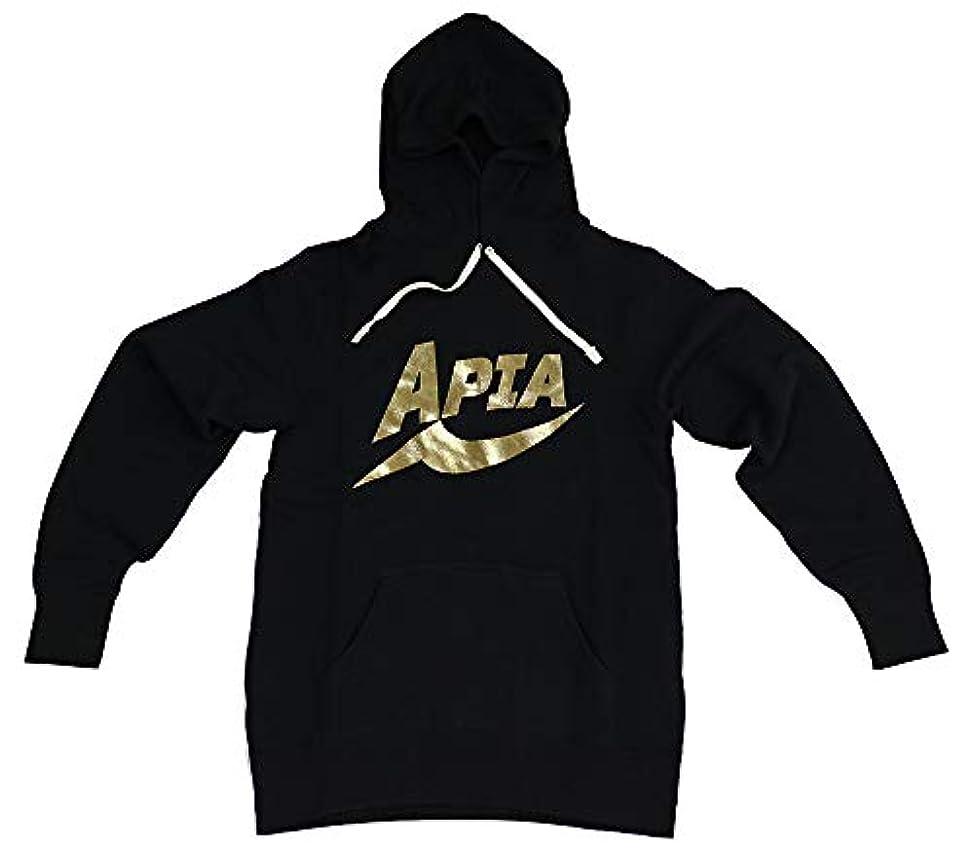 アルファベット順補体ラウズアピア APIAプルオーバーパーカ ゴールド L