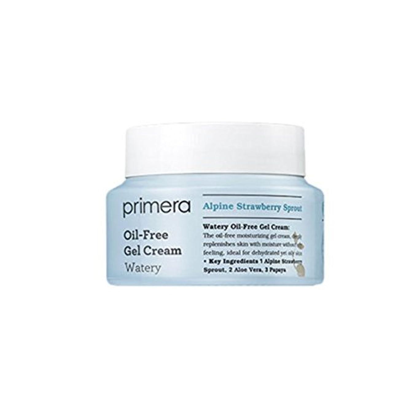 考古学的な上記の頭と肩宇宙の(プリメーラ) PRIMERA 水っぽいオイルフリーゲル クリーム Watery Oil Free Gel Cream (韓国直発送) oopspanda