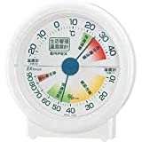 EMPEX (エンペックス) 生活管理温・湿度計 卓上用 TM-2401 ホワイト
