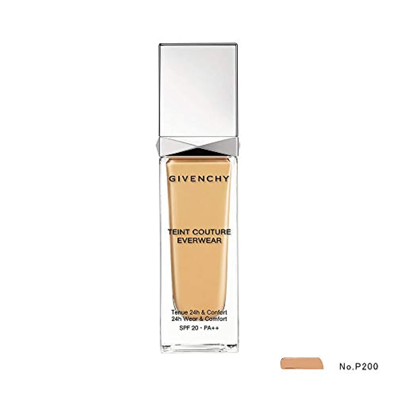 ヒント債務者資格ジバンシィ Teint Couture Everwear 24H Wear & Comfort Foundation SPF 20 - # P200 30ml/1oz並行輸入品