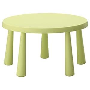 IKEA MAMMUT 子供用テーブル ライトグリーン 80267571