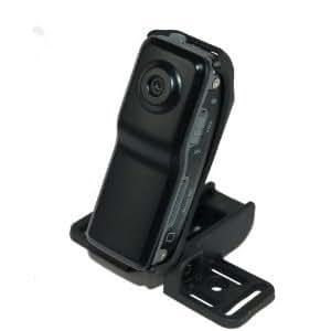 【音声感知機能付き】世界最小クラス マイクロムービーカメラ MiniDV 高解像度 720×480 pxl 30fps microSD対応 ブラック Gekiten GE-VC005