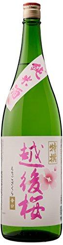 越後桜酒造 純米酒 [ 日本酒 新潟県 1.8L ]