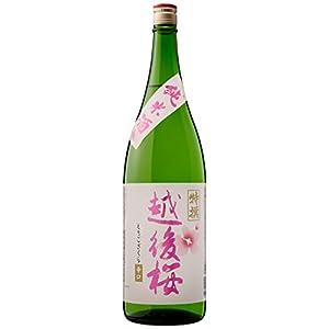 越後桜酒造 純米酒 1800ml [新潟県]