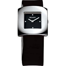 MANGO WATCH (マンゴー) 腕時計 MANGO SQARE SHAPE QM1111101 ケースサイズ: 34×34mm レディース