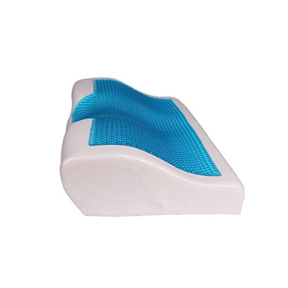 厚さ学習保険低反発クールなジェル枕夏の冷たい眠りの青涼しい快適なジェルベッド枕クッション用寝具