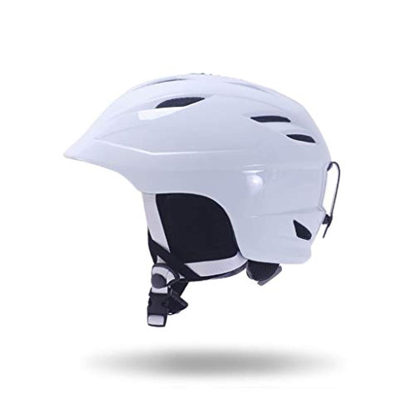 有名ばかげている避けるヘルメット スキー&スノーボード用ヘルメット、スキー用保護安全帽男性女性スケートボードスケート用ヘルメットシングルボードダブルボード調節可能F