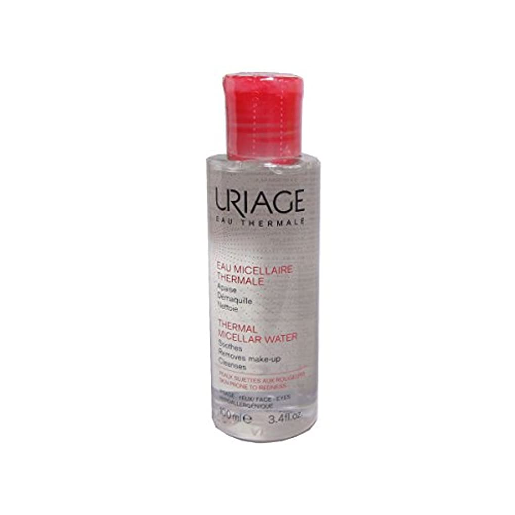専門知識緊張する軽くUriage Thermal Micellar Water Skin Prone To Redness 100ml [並行輸入品]