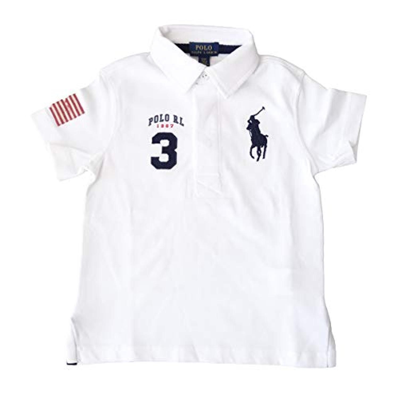 (ポロ ラルフローレン)POLO Ralph Lauren キッズ ポロシャツ 半袖 [並行輸入品] ホワイト 3T