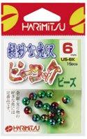 HARIMITSU(ハリミツ) ピーコック ビーズ 5mm US-6K