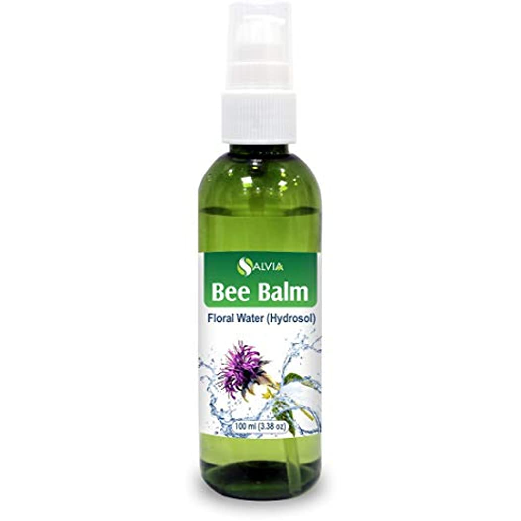 チャンバー血統同性愛者Bee Balm Floral Water 100ml (Hydrosol) 100% Pure And Natural