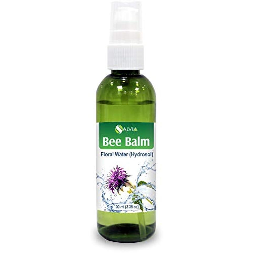 パックサンダル元に戻すBee Balm Floral Water 100ml (Hydrosol) 100% Pure And Natural