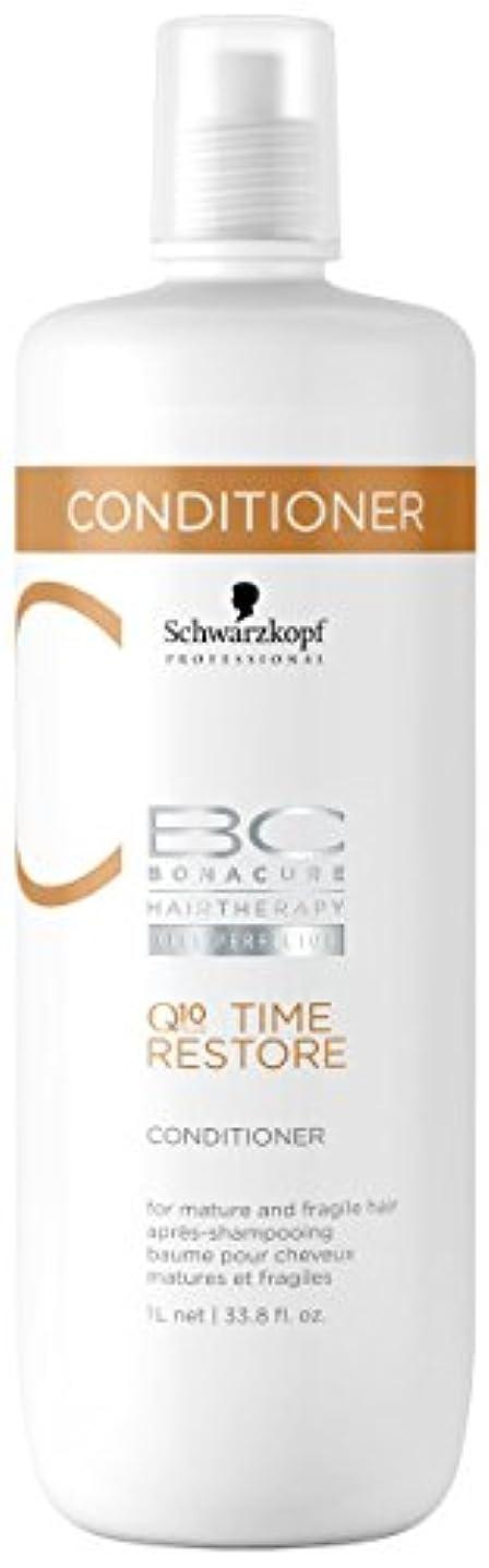 レンズ結婚する収容するシュワルツコフ BC タイムリストア Q10 コンディショナー ( マチュア&フラジャイルヘア ) 1000ml/34oz並行輸入品