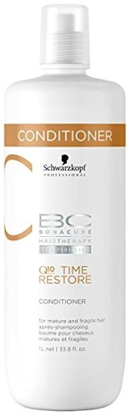 マウスピース洗う発疹シュワルツコフ BC タイムリストア Q10 コンディショナー ( マチュア&フラジャイルヘア ) 1000ml/34oz並行輸入品