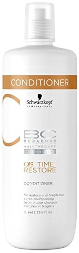 パターン思いやりのある集めるシュワルツコフ BC タイムリストア Q10 コンディショナー ( マチュア&フラジャイルヘア ) 1000ml/34oz並行輸入品