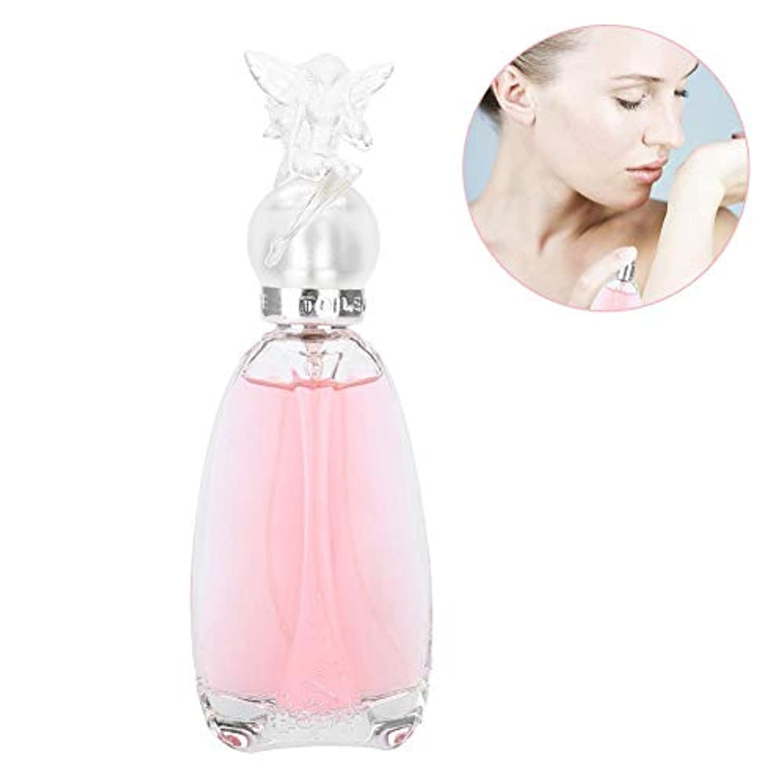 50ミリリットル香水ウォータースプレー、女性のための香水フレッシュフルーツフレグランスパーティー女王香水ガラス瓶セクシーな素晴らしい長続きがする香水(Pink)