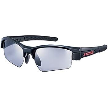 SWANS(スワンズ) 日本製 スポーツ サングラス ライオンシン コンパクト LION SIN-C (ゴルフ アウトドア サイクリング ボールスポーツ用) LI_SIN-C-0001_BK 0001 BK ブラック×ブラック×ブラック/スモーク