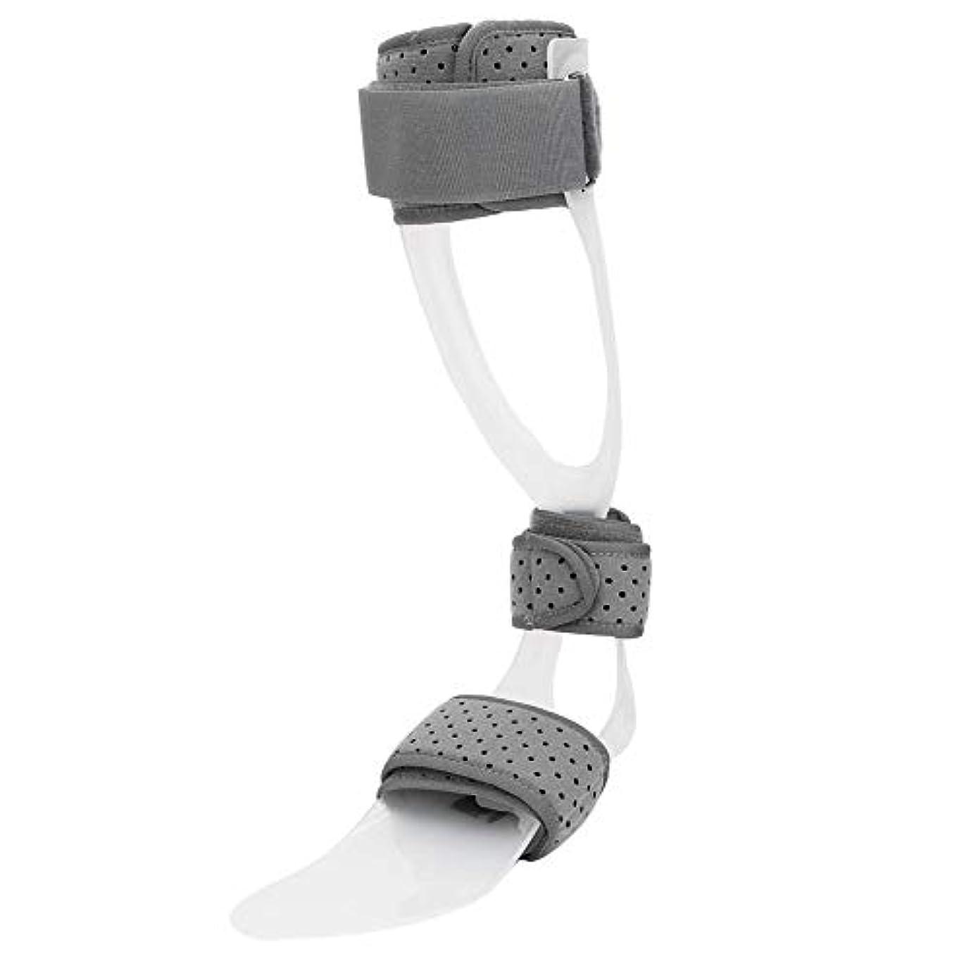関数出身地エアコン足首装具、足ドロップ副木足首脚装具ドロップ足装具サポート保護矯正足首可動性補助用背屈運動