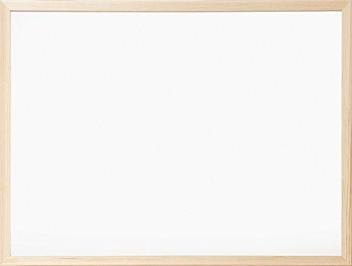 ナカバヤシ ウッドホワイトボード W620×H470mm WBM-E6247