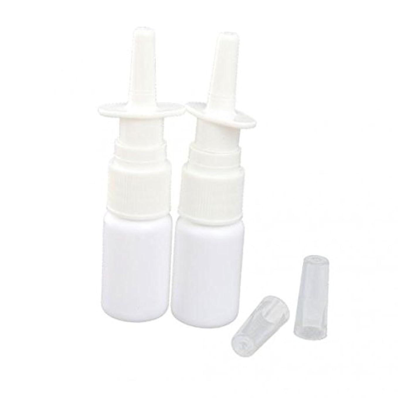 T TOOYFUL 4本 スプレーボトル ポンプボトル 噴霧器 キャップ付き プラスチック 鼻細かいミスト 全2サイズ - 15ミリリットル