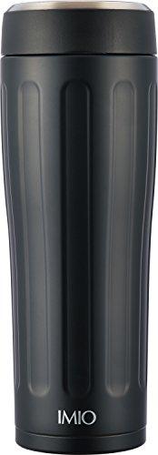 和平フレイズ 水筒 タンブラー 480ml ポータブル 真空断熱 ブラック イミオ IM-0005