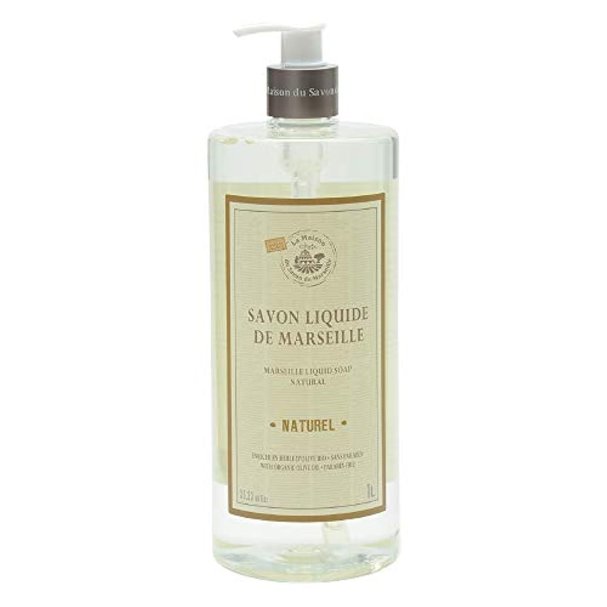 ノルコーポレーション マルセイユ石鹸 リキッドソープ 1L 無香料 MLL-2-6