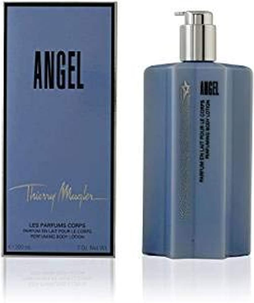びんバージン私たちのThierry Mugler Angel Body Lotion 200 ml