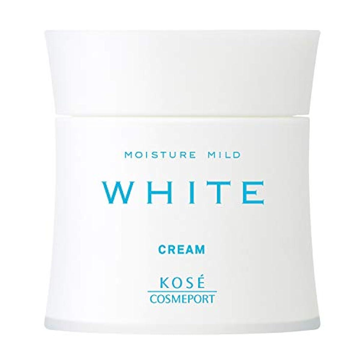 くしゃくしゃ権利を与える瀬戸際KOSE コーセー モイスチュアマイルド ホワイト クリーム 55g