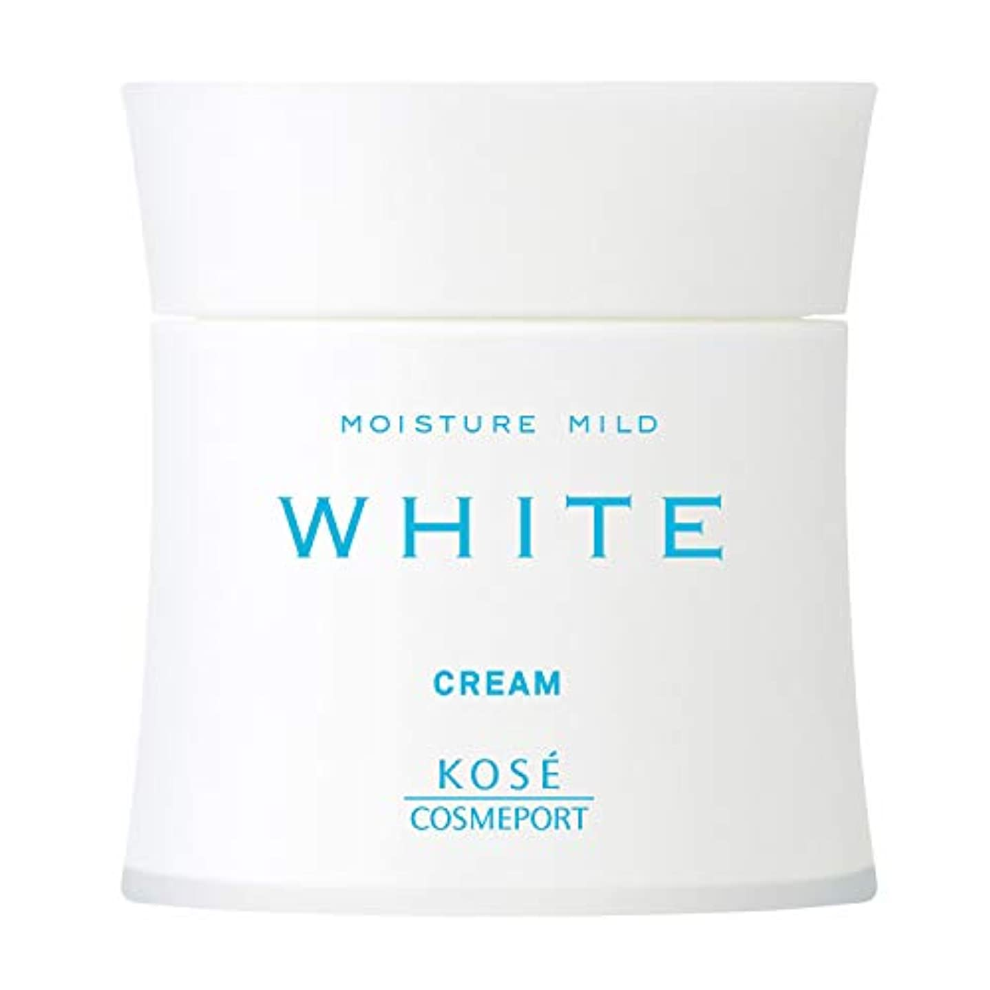 問題消化器加速度KOSE コーセー モイスチュアマイルド ホワイト クリーム 55g