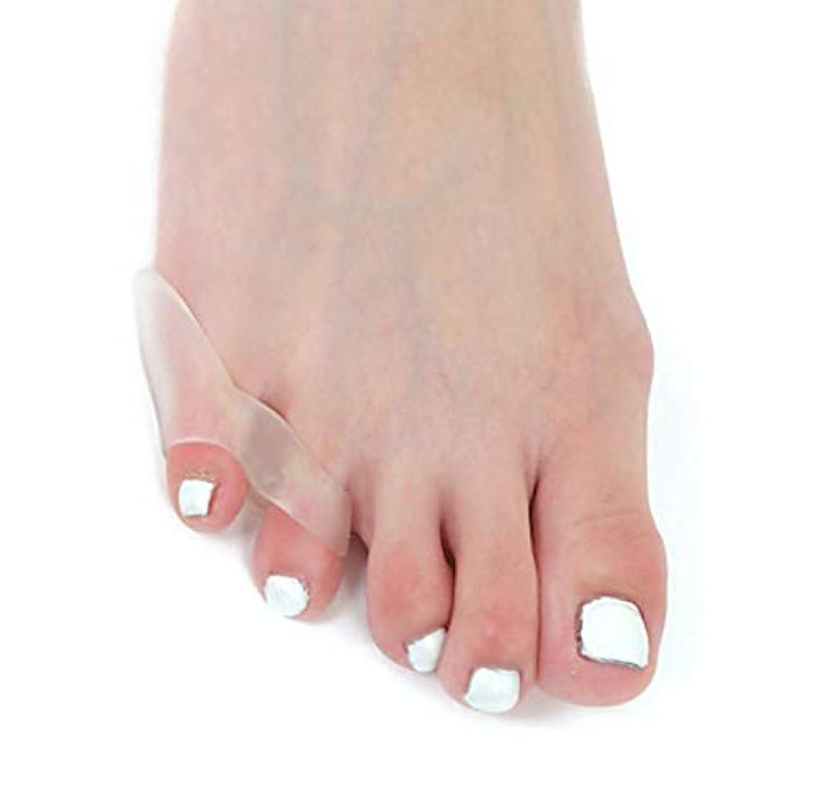 コインスープ完全にfoot protection 内反小趾 サポーター B(小指サポーター) 4個入り ないはんしょうし パッド インソール 矯正 サポーター 小指矯正 足小指 小指 シリコン (2)