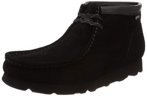 [クラークス] ブーツ メンズ ワラビーブーツ GTX 26128499 ブラックスエード UK 9(27 cm)