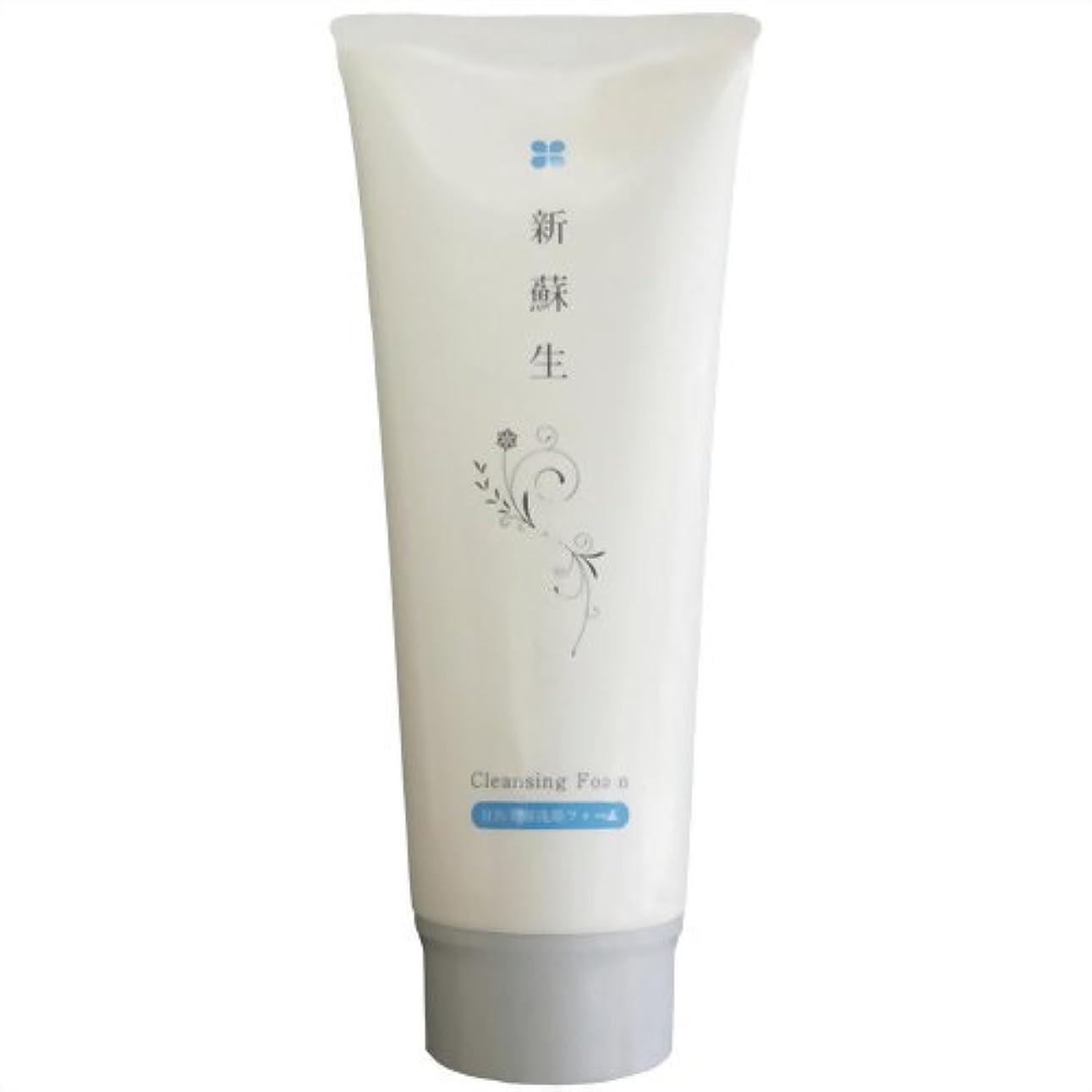 透明にシルク嫌い新蘇生 日医美容洗顔フォーム 120g