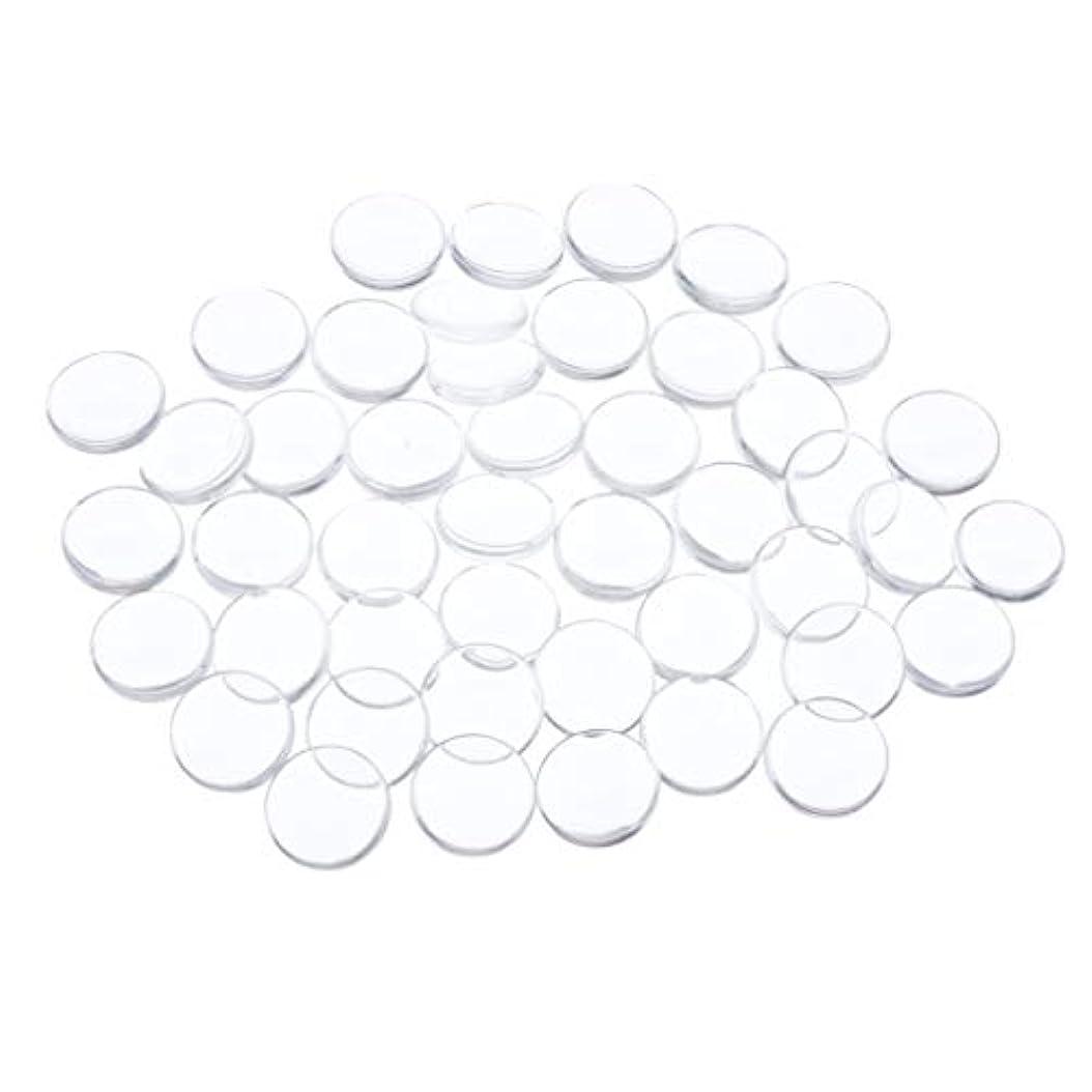 プレゼン六直面するToygogo ネイルアート ネイルチップ クリア ネイルカラー ディスプレイ カード ネイル用品 全7種 - 円形