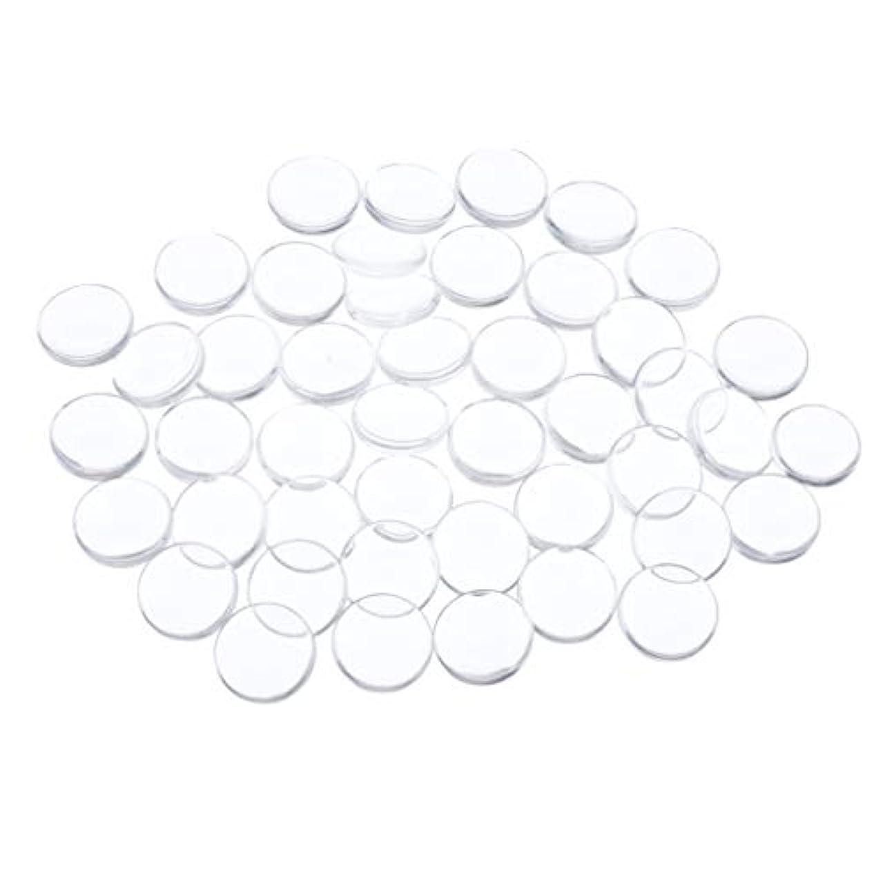 施設受け入れ五十Toygogo ネイルアート ネイルチップ クリア ネイルカラー ディスプレイ カード ネイル用品 全7種 - 円形