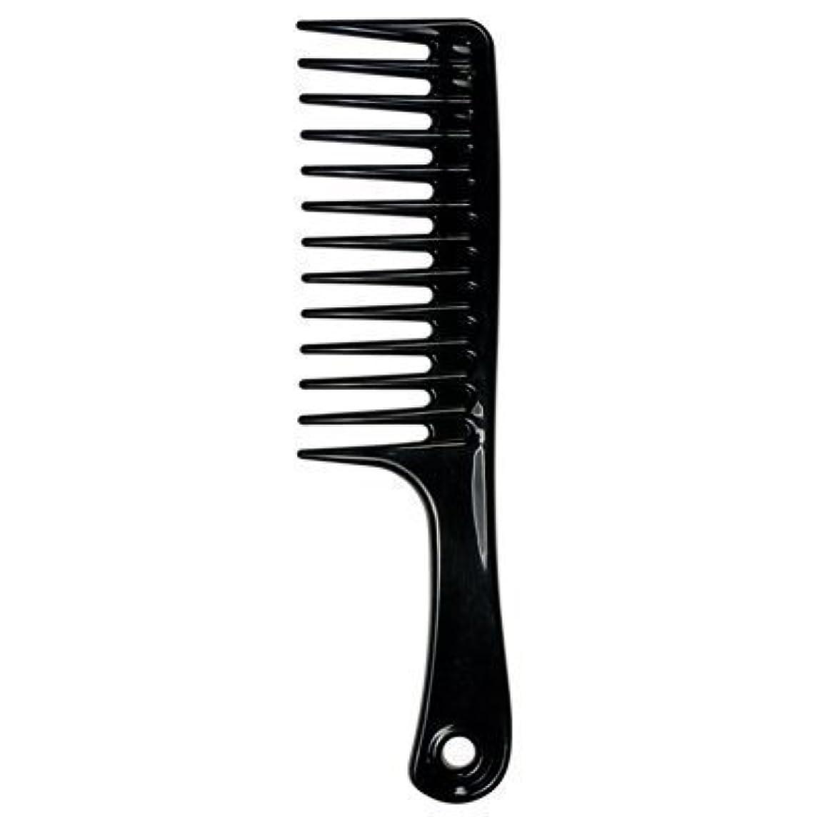 ブッシュ裁判所フィードオンLarge Tooth Detangle Comb Shampoo Wide Teeth Comb Hair Salon Shampoo Comb Unbreakable 9 1/2